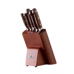 Zestaw noży kuchennych Gerpol NKB5  - 5 szt. w bloku