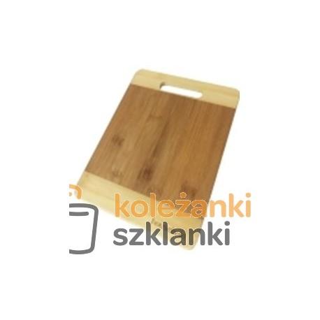 Deska kuchenna bambusowa 25 cm WAK