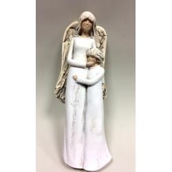 Anioł z dzieckiem - 30 cm