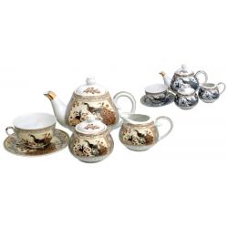 Komplet do herbaty porcelena PAW 15 el.