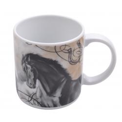 Kubek porcelanowy KOŃ eryk 6622