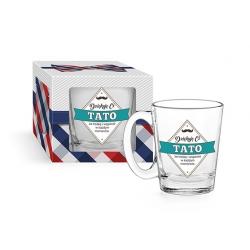 Kubek szklany DZIĘKUJĘ CI TATO conic 310 ml