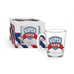 Kubek szklany SUPER TATA conic 310 ml