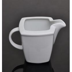 Dzbanek do mleka biały 000e Lubiana Victoria 0,15 l. (2704)