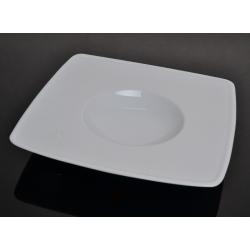 Talerz do deseru biały 000e HOTEL Lubiana Victoria 26 cm (2825)