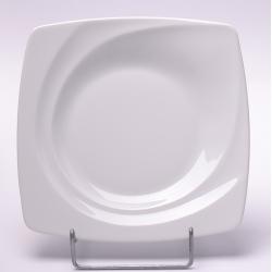 Talerz płytki deserowy biały 000e Lubiana Celebration 19cm