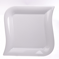Talerz płytki deserowy biały 000e Lubiana Opera 22 cm (3631)