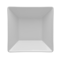 Talerz głęboki kwadratowy biały 000e Lubiana Classic 18,5 cm / 18,5 cm (2575)