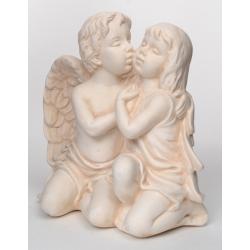 Figurka gipsowa pocałunek anioła - anioł stróż 417-8