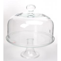 Klosz szklany + patera 09-004/1 Edwanex