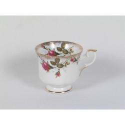 Filiżanka do kawy formowana 220 ml Iwona Róża B013 Chodzież Ćmielów