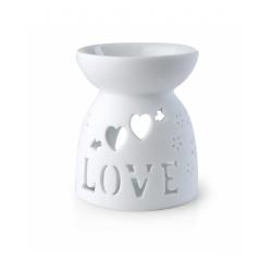 Kominek na olejek zapachowy LOVE aromaterapia