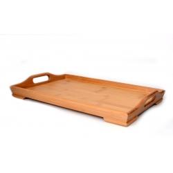 Taca bambusowa 39x23,5x6cm Hausehold