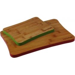 Deska bambusowa malowana 20,3x15,3x1,5 a36 7755 Hausehold