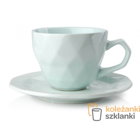 Adel Mint filiżanka 280 ml spodek 15,5 cm