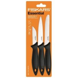 Zestaw 3 noży do warzyw i owoców FISKARS Essential 1023785