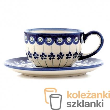 Filiżanka 220ml Ceramika Bolesławiec 166a Gu 883 Bez Spodka