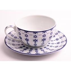 FLISTY filiżanka ze spodkiem do herbaty 0,2 l. 15 cm 1086 Linea