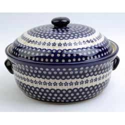 Chlebak z pokrywką Ceramika BOLESŁAWIEC 166A GU-1095S