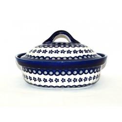 Brytfanna ceramiczna BOLESŁAWIEC 166A GU-1156
