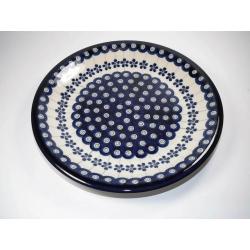 Talerz płytki ceramiczny BOLESŁAWIEC 166A GU-1001