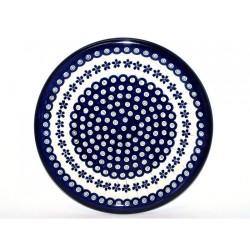 Talerz płytki ceramiczny 166A GU-1014 BOLESŁAWIEC 27,5 cm