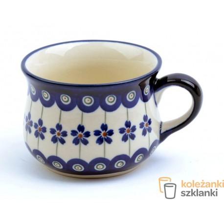 Filiżanka 220ml Ceramika Bolesławiec 166a Gu 1595 Koleżanki Szklanki