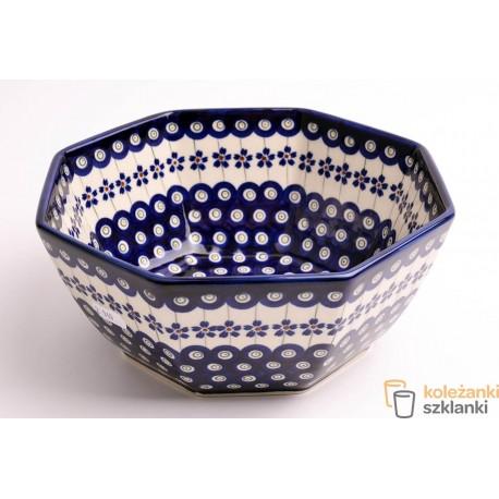 Miska ceramiczna GU-1962A DEK.166a BOLESŁAWIEC