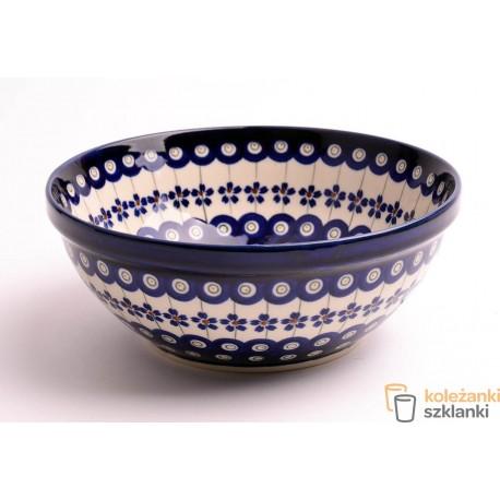 Miska ceramiczna GU-850 DEK.166a BOLESŁAWIEC 1,3 L
