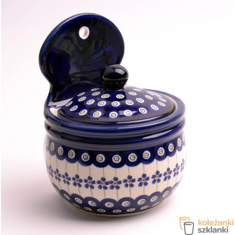 Pojemnik ceramiczny GU-1211 DEK. 166A BOLESŁAWIEC