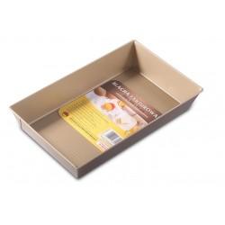 Forma do pieczenia ciasta fakturowana Chocolate 39x23,5x7 cm SNB
