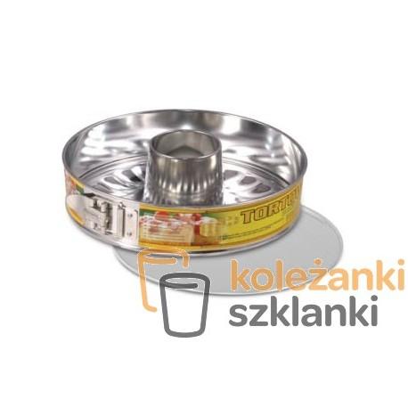 Tortownica do pieczenia tortu podwójne dno SNB 24 cm