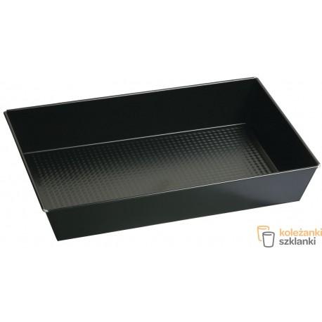 Forma / blacha do pieczenia z powłoką nieprzywierającą SNB czarna 28x23 cm