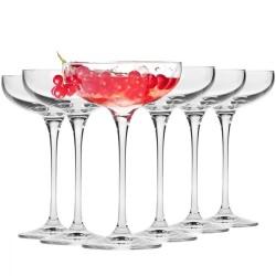 Krosno kieliszki do szampana płaskie Harmony 6szt