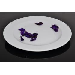 Lubiana Kaszub/Hel 000e talerz płytki biały 24cm (234)