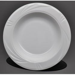 Lubiana Arcadia 000e biały talerz głęboki 22,5 cm (520)