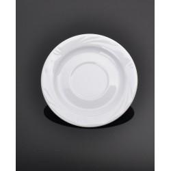 Lubiana Arcadia 000e biały spodek 165 (515)