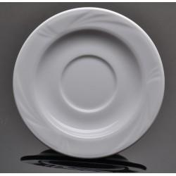 Lubiana Arcadia 000e biały spodek 145 (512)