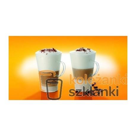 Szklanki żaroodporne Caffe Latte 0,4 l. 6 szt. Termisil CSSS040C