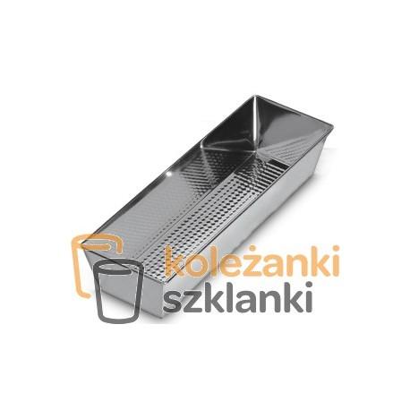Blacha do ciasta prostokątna 35 * 12 cm DOM-MET forma do pieczenia