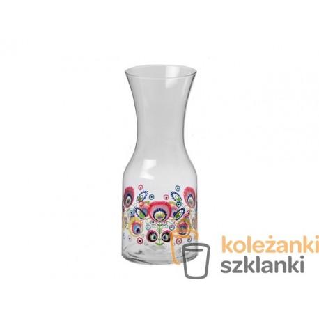 Karafka FOLK 900 ml KROSNO DECO LINE F5939500900